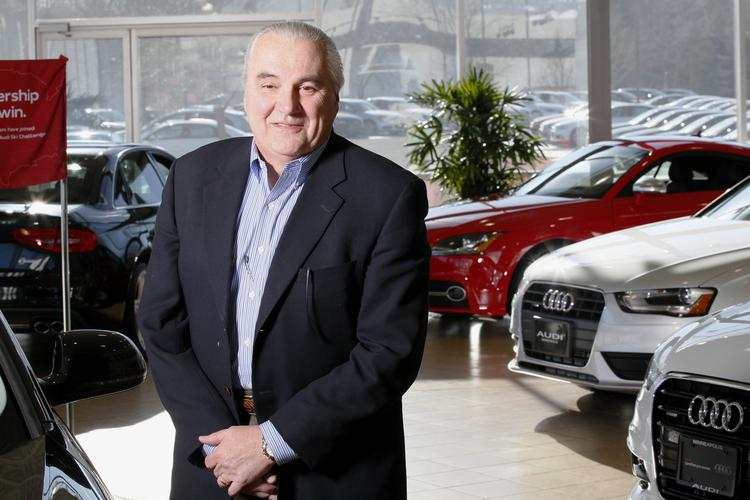 Jay Hulbert is leading the Pohlad family's auto business, which now operates 11 auto dealerships and one motorsports dealership.