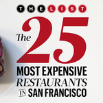 How much will diners pay? San Francisco's most expensive restaurants unveiled