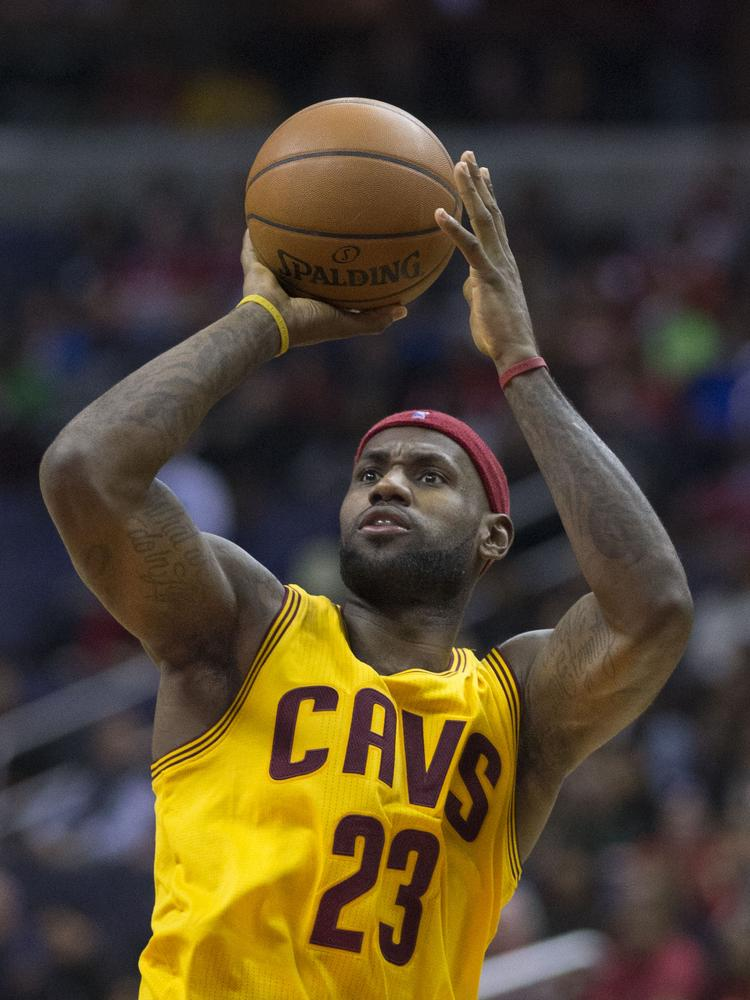 2f5e3418778 LeBron James of the Cleveland Cavaliers James has signed an endorsement deal  with Blaze Fast-