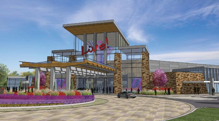 The Cordish Cos. wants to build a $200 million casino in Leominster, Mass. Above, a rendering of the project.