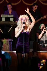 Cult classic and 2012 Broadway World Boston award winner Hedwig and the Angry Inch in the Spiegeltent.