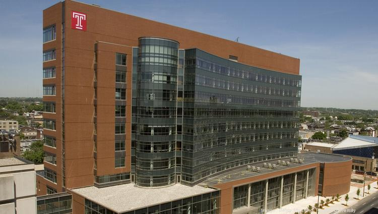 The Lewis Katz School of Medicine at Temple University is on North Broad Street just south of Germantown Avenue.