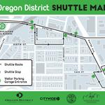 New shuttle service to set up around Oregon District