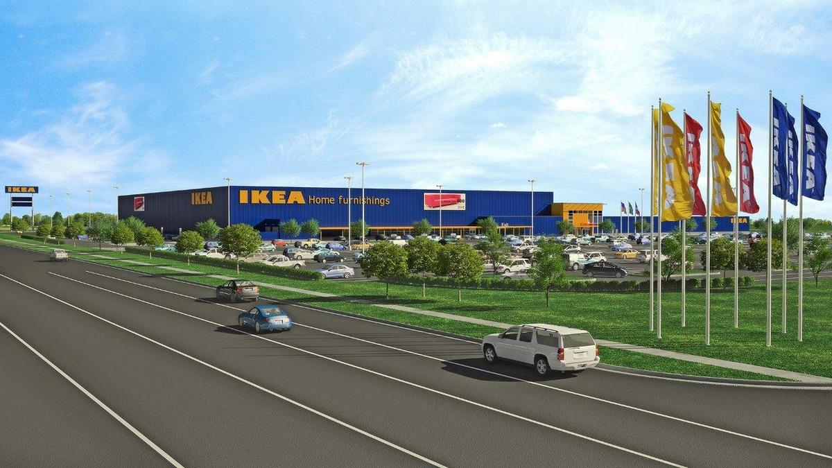 grand prairie city council approves plans for 297 000 square foot ikea store dallas business. Black Bedroom Furniture Sets. Home Design Ideas