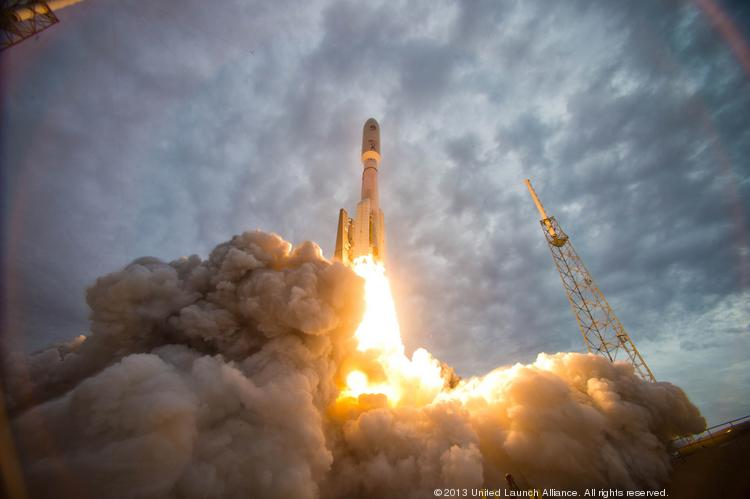Three Aerojet Rocketdyne launch boost motors blasted a U.S. National Reconnaissance Office satellite into orbit aboard a Delta IV rocket earlier this year from Vandenberg Air Force Base in Southern California.