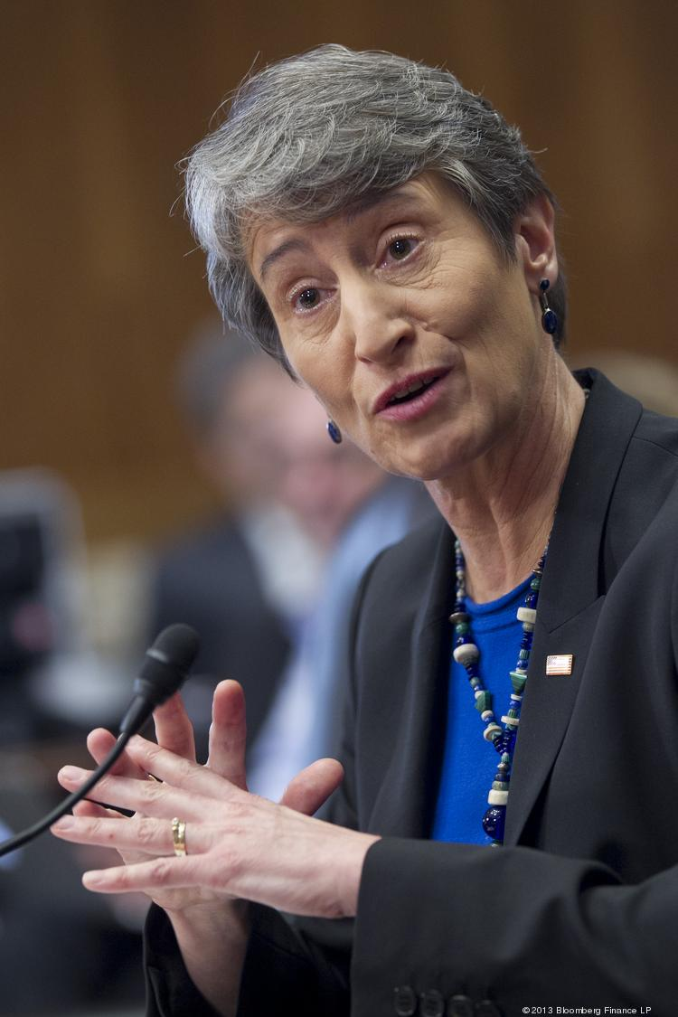Sally Jewell, U.S. Interior secretary (file).