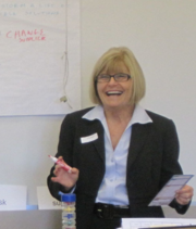 Barbara Evers, Top Giving Officer, Boston Private Bank & Trust.  No. 68: $161,785 given in 2012 to Bay Area-based charities.