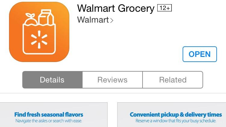 Wal-Mart to offer mobile app shopping, pickup service at