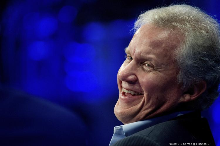 Jeffrey Immelt, chairman and chief executive officer of General Electric Co.