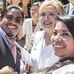 Hillary in San Antonio: Latinas start more small businesses than other groups (Slideshow)