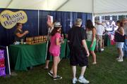 The Peanut Principle, based in Cohoes, was one of 12 vendors at the inaugural Uniquely New York Marketplace held Sunday, July 21, at Saratoga Race Course.