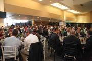More than 700 packed the West Touchdown Club of EverBank Field.