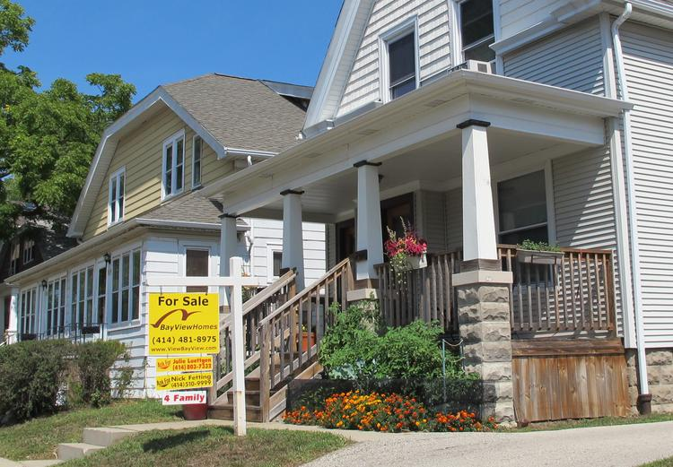 Home sales were up 10.3 percent in the Milwaukee area.