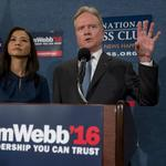 <strong>Jim</strong> Webb to explore independent race for president after bombing as a Democrat