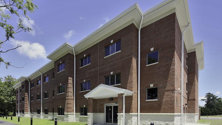 Stella has completed a temporary lodging facility for the U.S. Marine Corps at Camp Lejeune, N.C.