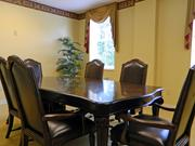 Private dining rooms also are among the amenities at the Villages at Historic Silvercrest.