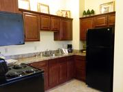 Some of the apartments at Silvercrest include full kitchens.