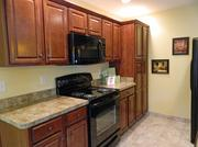 This kitchen is located in one of the new patio homes at Silvercrest.