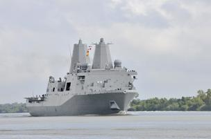 The U.S. Navy is moving the USS New York's homeport to Mayport.
