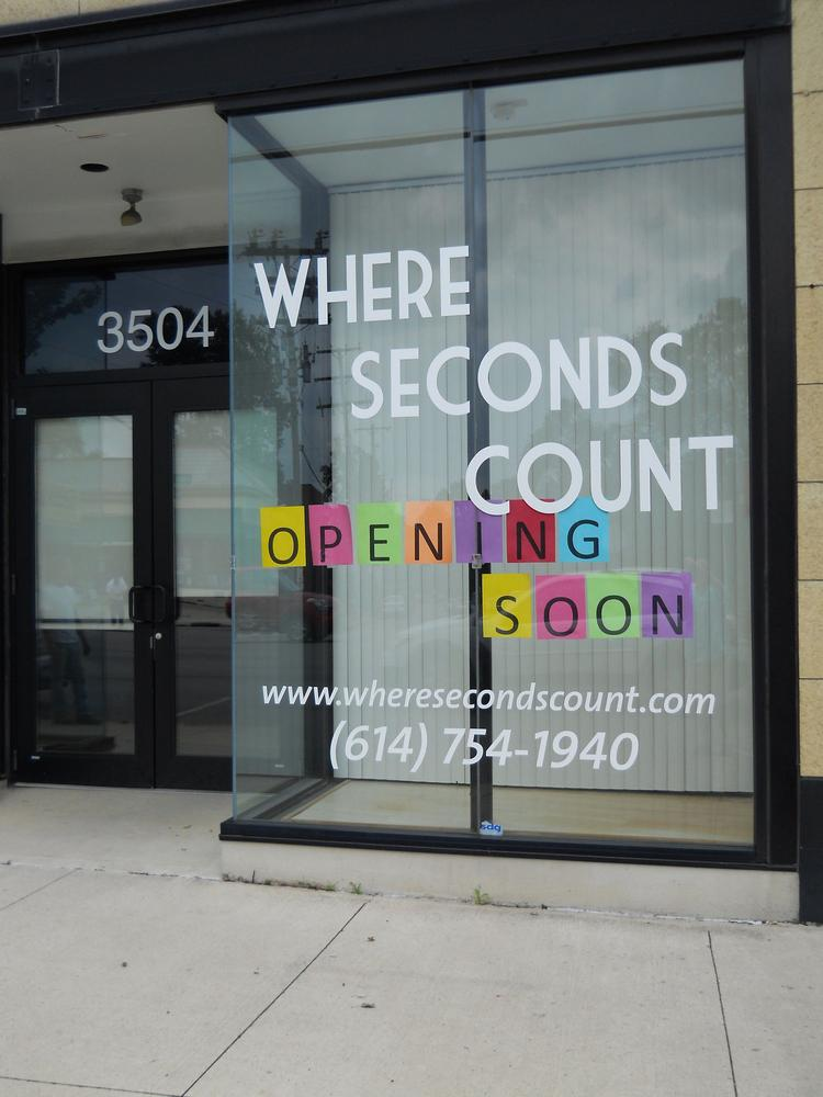 Where Seconds Count is taking the space at 3504 N. High St. that used to house the Jimmy Rawlins Dance Studio.