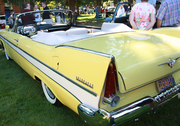 The classic American lines of a 1957 Plymouth Belvedere.