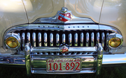 The stylish grill of a 1948 Buick Roadmaster.