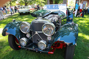 This 1939 100 3 SL Jaguar was also shown in the Pebble Beach Concours d'Elegance Show.