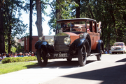 Craig Hannum rebuilt his 1926 Rolls Royce and came in first in his category.
