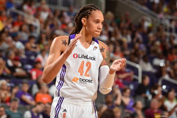 Phoenix Mercury star Brittney Griner may have a new logo on her jersey if a deal between the team and Casino Arizona goes through.