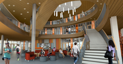 The Student Experience Center will open in 2014.
