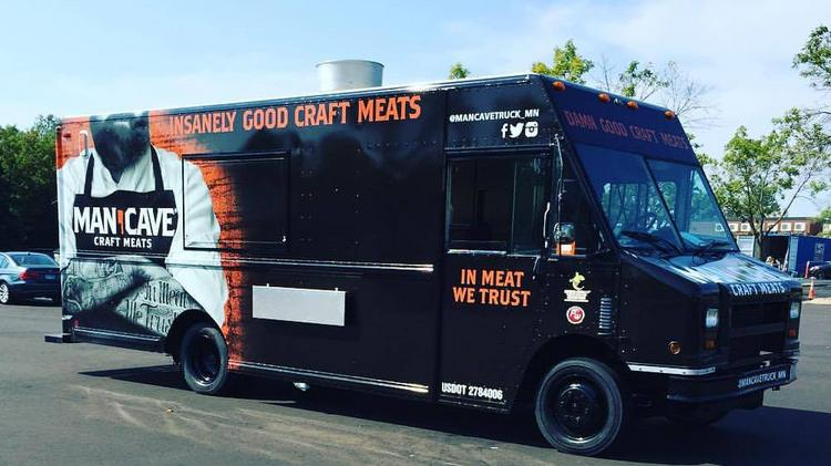 Man Cave Craft Meats Rolls Out Food Truck Minneapolis St Paul