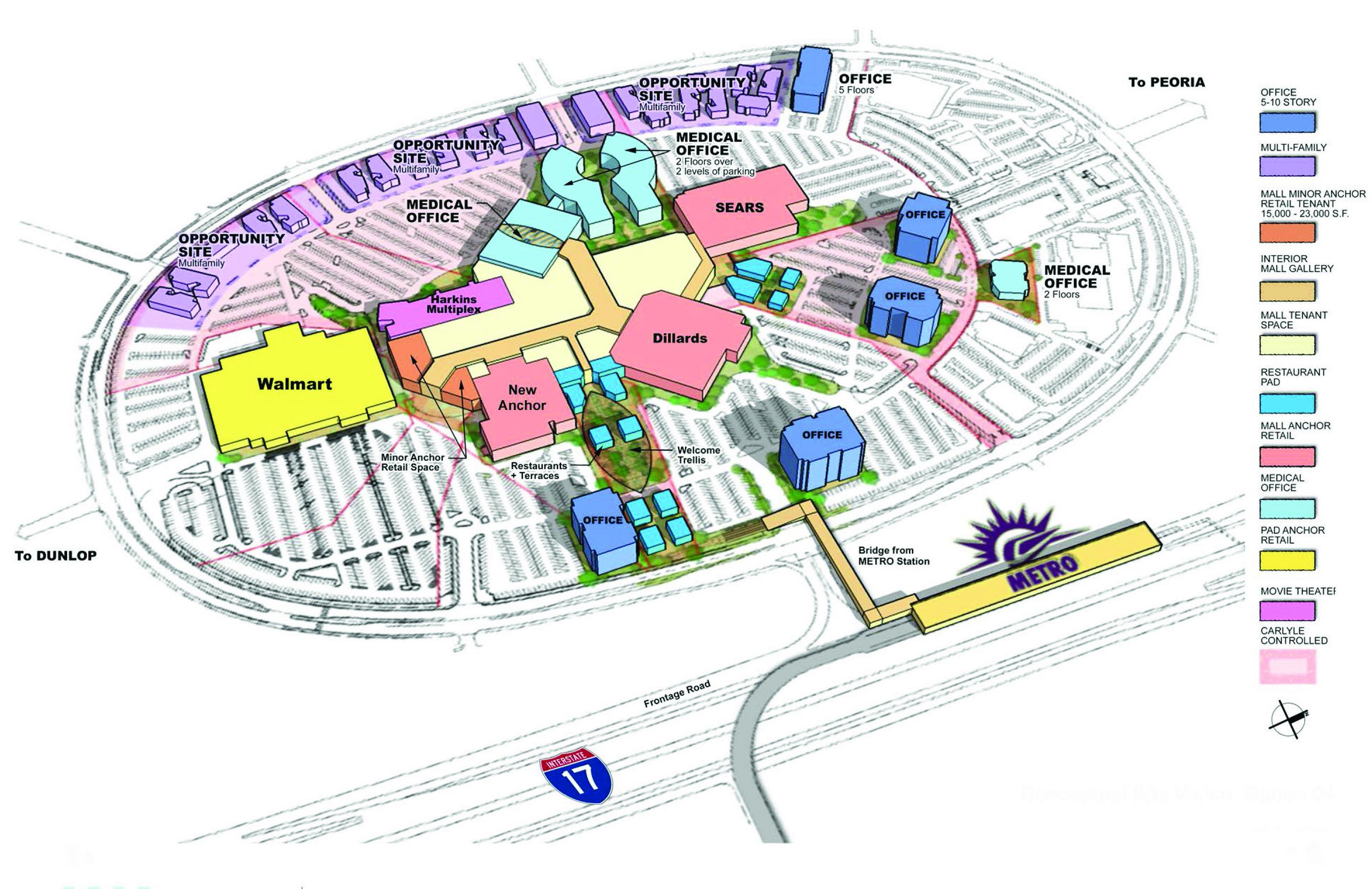Developers Plan Big Changes At Aging Metrocenter Mall In