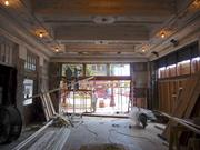 The lobby of the historic theatre, being renovated by Stewart Perry Construction.
