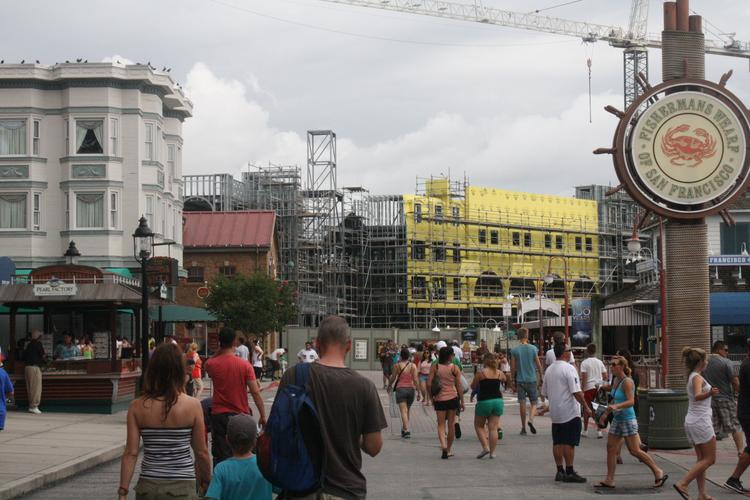Universal Orlando will likely welcome even more guests when it opens Harry Potter's Diagon Alley expansion next year.