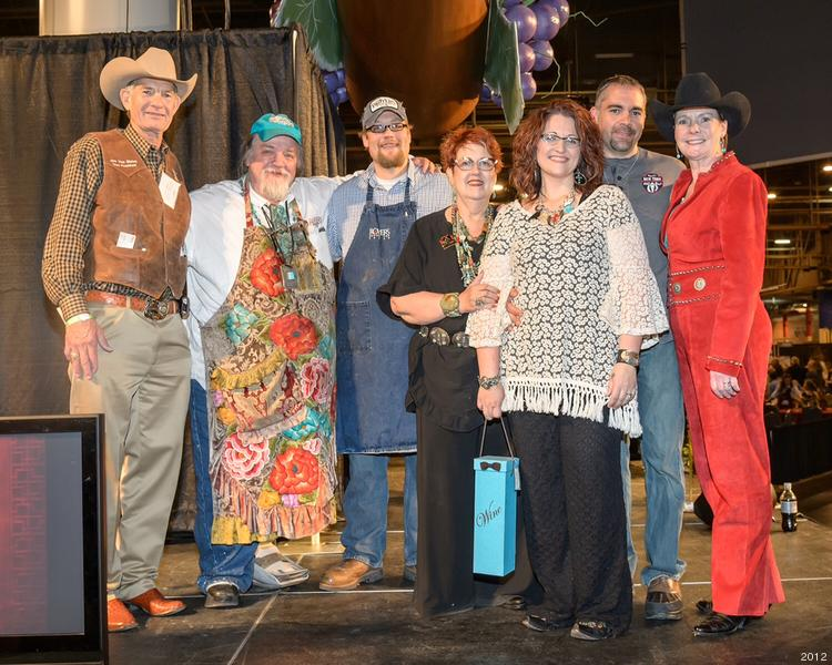 Royer's Round Top Cafe won first place in the popular category for its assorted pies.   Click through the slideshow to see more photos from the Rodeo Uncorked! Roundup and Best Bites Competition.