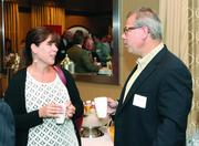 Rebecca Courson of Consolidated Communications and William Wyrick of Lynch Weis LLC.