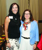 Nancy Furbee, left, of Furbee and Associates LLC and Evelyn Severino of Severino Consulting LLC.