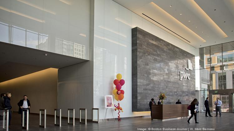 Inside Pricewaterhousecoopers New High Rise Office In The