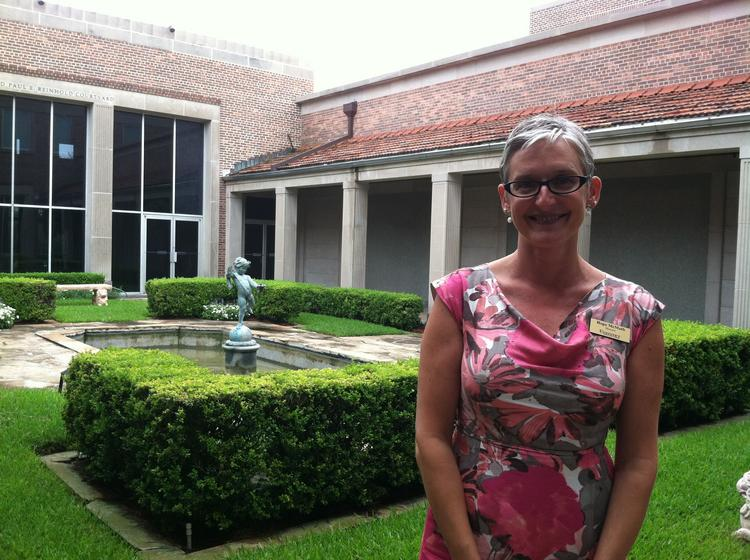 Hope McMath, director of The Cummer Museum of Art & Gardens, stands in front of the museum, which sees itself as helping connect Riverside and Downtown.