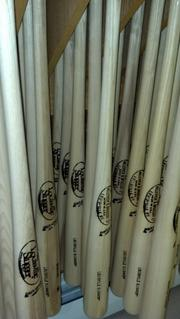 Baseball bats for sale at Cooperstown Bat Co., on Main Street in the village of Cooperstown. The company was founded, like so many others, because of the Hall of Fame (meeting demand from fans who wanted to collect autographs on bats).