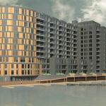 12-story apartment building planned on Milwaukee River in Walker's Point