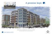 A rendering of one of the new buildings in Park South.