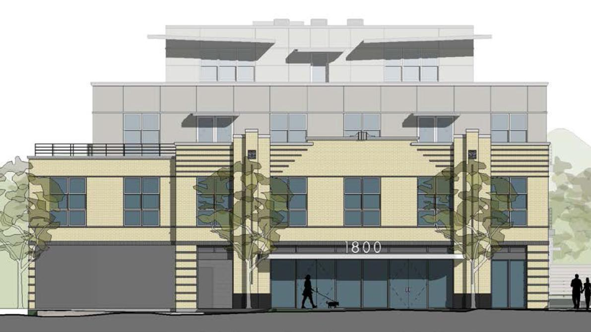Amazing Mixed Use Project At 1800 Mount Vernon Ave. In Del Ray Will Preserve  Buildingu0027s Architectural History   Washington Business Journal