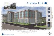 A rendering of one of the new buildings in Park South