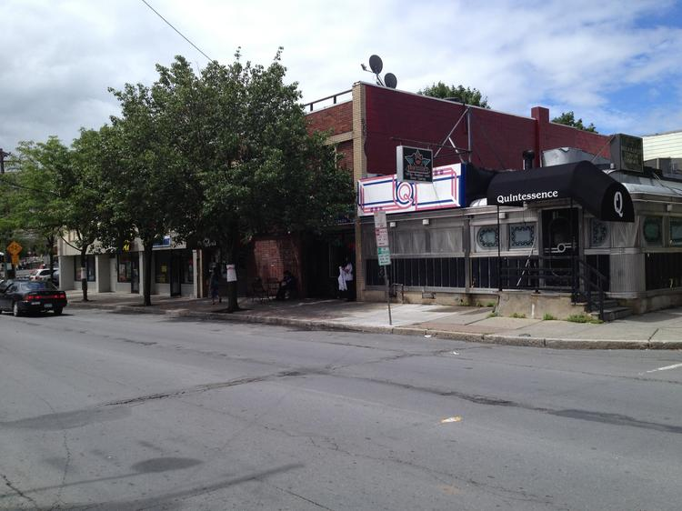 The old silver diner at 11 New Scotland Ave. in Albany, former home of Quintessence restaurant and a fixture in the city for 80 years, will be removed as part of the second phase of the $110 million Park South redevelopment project.