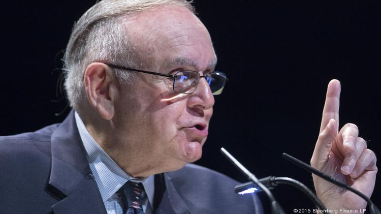 Leon Cooperman, founder, chairman and chief executive officer of Omega Advisors Inc., speaks during the 20th Annual Sohn Investment Conference in New York, U.S., on Monday, May 4, 2015. Since 1996 the Sohn Investment Conference has brought together the world's savviest investors to share fresh insights and strategies in support of pediatric cancer research and treatment.