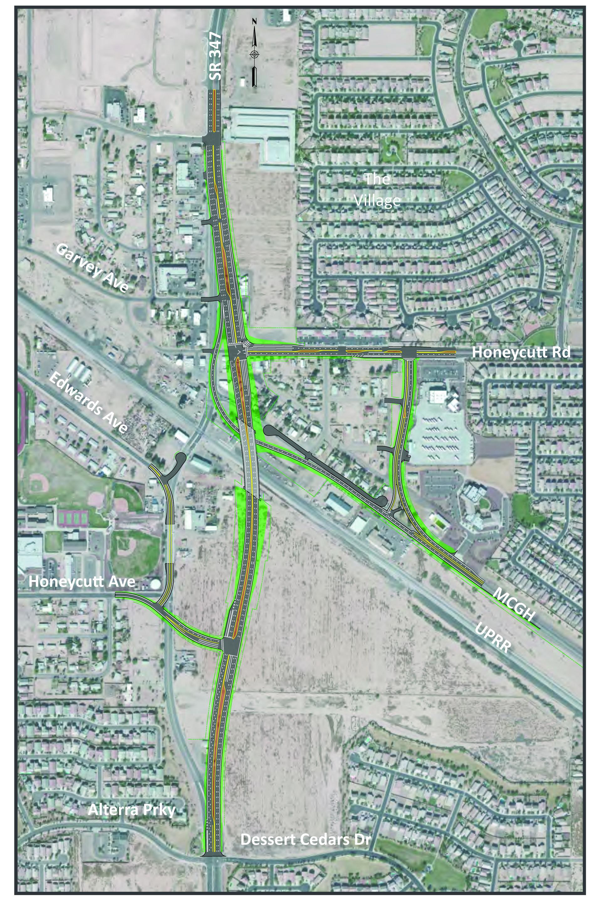 54 million overpass to offer traffic relief in maricopa south of