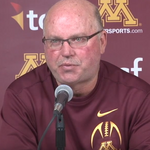 Gophers football coach <strong>Jerry</strong> <strong>Kill</strong> offers advice in emotional goodbye (Video)