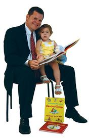"Richard W. James - Director, McDonald Tinker Law Firm ""I brought my daughter Abbey and some of her favorite books, Curious George and Fancy Nancy, because I love to read and I especially love to read to her."""