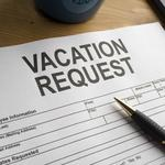 Managing: Employee booked vacation for a date he's required to work